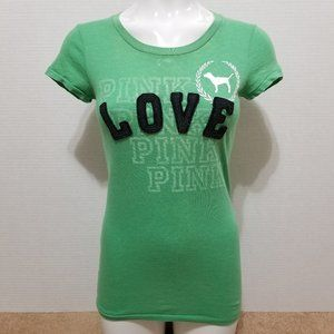 Victoria's Secret PINK top Small Love PINK dog